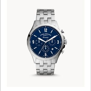 🆕 FOSSIL CHRONOGRAPH STAINLESS STEEL WATCH